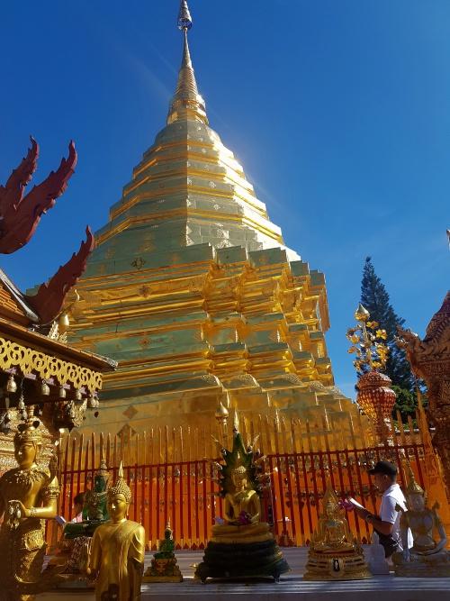 Chedi des Wat Phra That Doi-Suthep