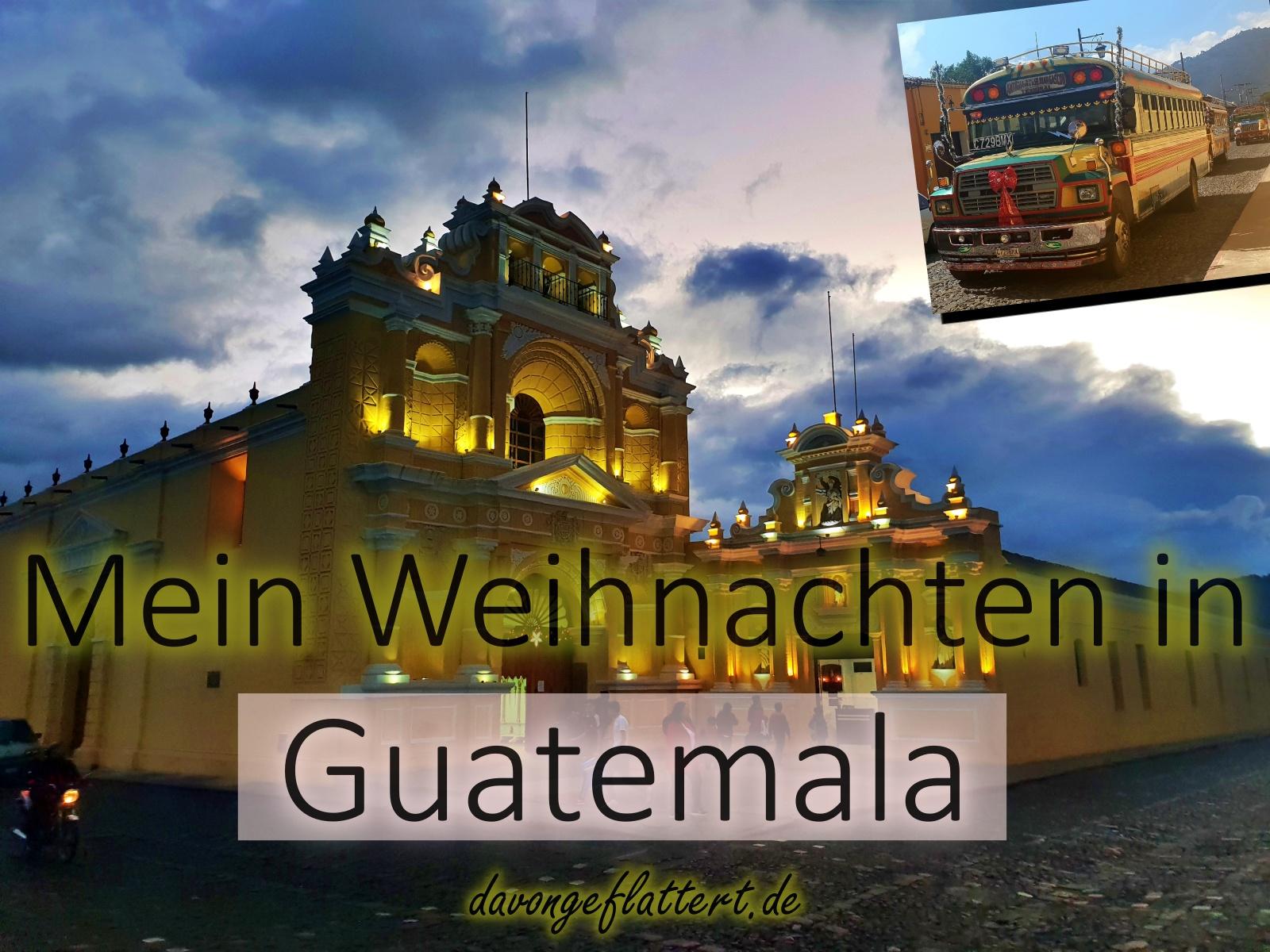 Weihnachten in Guatemala
