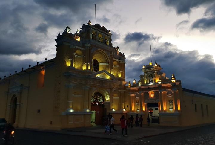 Weihnachten in Guatemala.